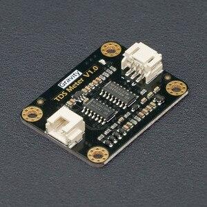 Image 2 - Новый модуль датчика DFRobot Gravity: 3,3 5,5 В, аналоговый модуль датчика TDS, проводимость воды для обнаружения качества воды