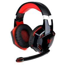 Game headphones wire control HD mic super bass HIFI stereo Surround sound Smart noise reduction Professional E-sport headsets