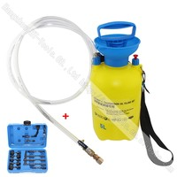 Manually Operated Automatic Transmission Gear Box Oil Filling Tool Set 5 Liters 13pc Adaptor Set For