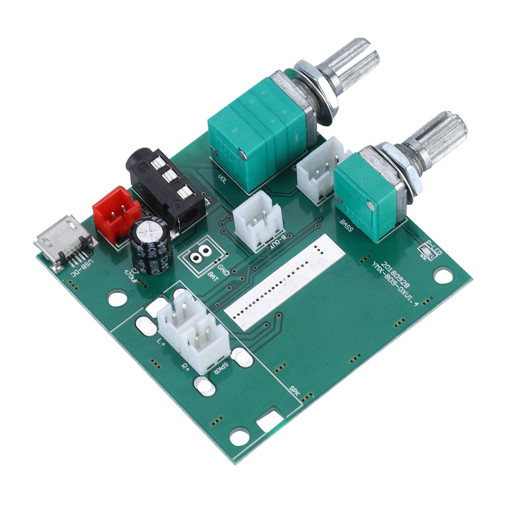 20W BT 5.0 5V 2.1 Channel Stereo Amplifier Digital AMP Board Module Amplifiers With Onnection Cable image