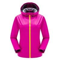 Newest 2017 Detector Brand Men Women Lovers Hiking Jacket Waterproof Jacket Outdoor Woman Windbreaker Warm Ski