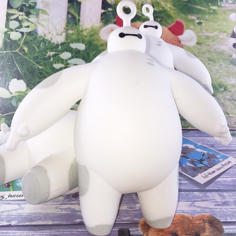 1 Pcs Cute Creative Novelty Gift Big Hero Baymax Vent Ball Action Figure Toy Soft Robot Doll Relax Squeeze Stress Relief