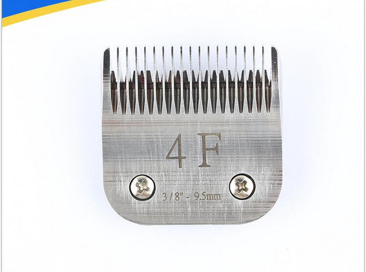 4F A5 blade for Pet Grooming Steel or Cermic clipper 9.5mm 4F A5 blade for Pet Grooming Steel or Cermic clipper 9.5mm