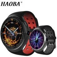 HAOBA 3g Смарт часы Bluetooth сердечного ритма шагомер Поддержка sim карты gps WI FI Smartwatch С Оперативная память 1 ГБ Встроенная память 16 ГБ для IOS и Android