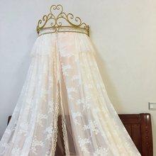 Золотая Европейская Корона кровать занавеска полка подарок для