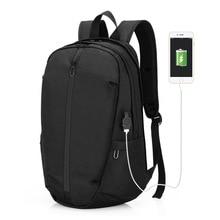 OZUKO Men Backpack Student USB School Backpacks Fashion Trav
