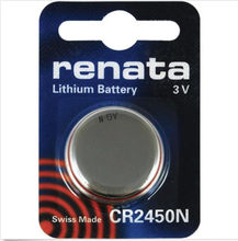2017 new freeshipping renata lithium Battery CR2450N 3V %100 original brand renata 2450 battery(China)