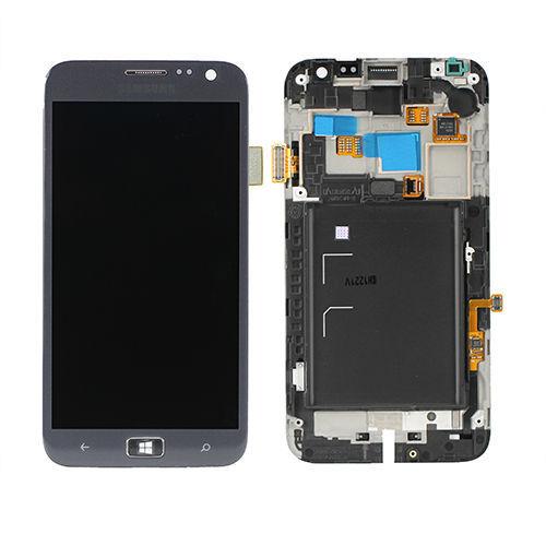 Um display lcd + touch screen com frame para o samsung ativ s i8750 frete grátis low cost