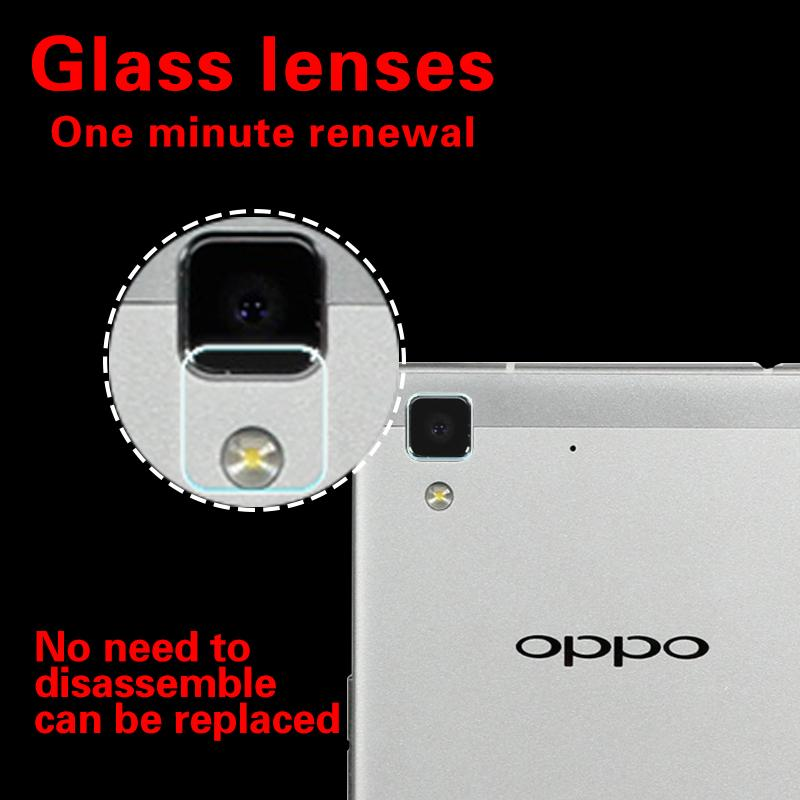 Anti-Scratches Back Camera Lens Tempered Glass Film For Oppo R3 R5 R7S glass film for Oppo R7005 Rear Camera Lens Protector Film