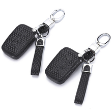 Leather Car Key Case Cover For Land Rover A9 Range Rover Sport 4 Evoque Freelander 2 Discovery for Jaguar XE XJL XF C-X16 Guitar thermostat coolant cooling system lr001312 for freelander 2 for range rover evoque for jaguar xf