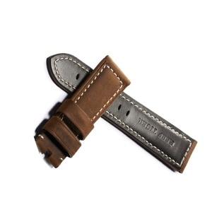 Image 4 - שונית טייגר/RT הספורט שעונים צפו בנד עבור גברים שעון עור חום השחור רצועה עם אבזם RGA3503 RGA3532