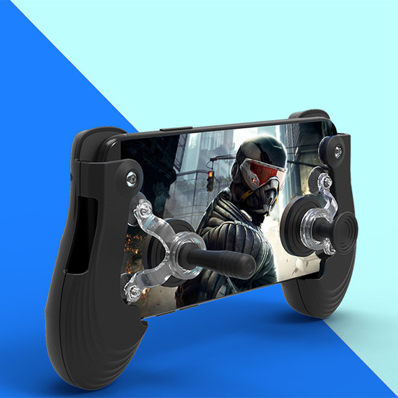 Smart Phone Gamepad Joysticks 2 In 1 For PUBG Mobile King of Glory SmartPhones Game Handheld Game Controller For PUBG Game