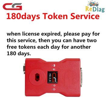 180 dni dwa darmowe żetony każdego dnia dodaj usługę tokena dla cgdi prog MB dla Benz programator kluczy samochodowych tanie i dobre opinie Auto key programmer Add Token for CGDI Prog MB