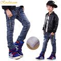 Kindstraum Winter New Boys Jeans 4 Styles Kids Warm Denim Trousers Children Warm Thick Fleece Pants Boys Winter Wear, MC238