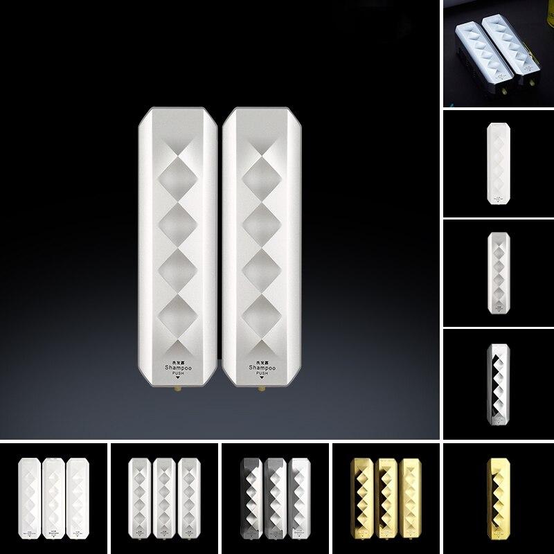 350ml Single Liquid Soap Dispenser Wall Mount Lavatory Bath Shower Accessories White Container For Bathroom Hotel 1050ml 1ABC