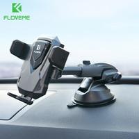 Floveme 360 girar titular do telefone do carro para o iphone x 8 brisa sucção suporte de montagem do carro suporte do telefone para samsung s8 suporte no carro|Suporte p/ celulares| |  -