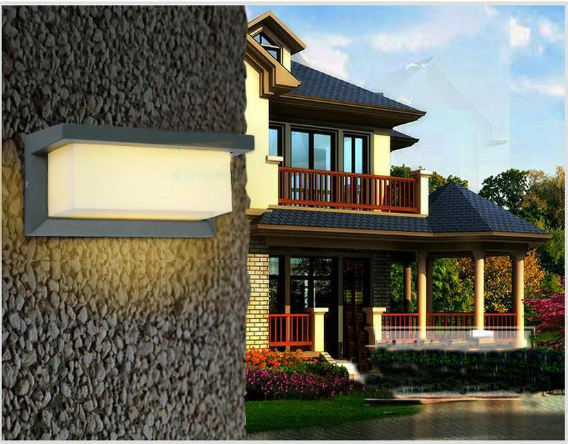Modern10w LED garden lights waterproof Balcony waterproof wall lamp outdoor wall lamps pp302 ...