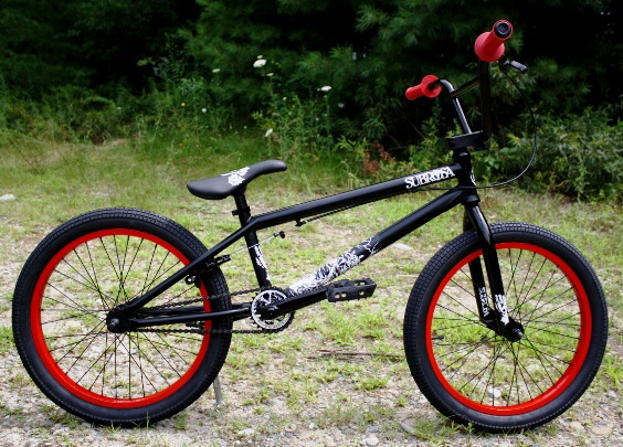 Subrosa cool price double layer high quality aluminum alloy 36 hole bmx bicycle rim