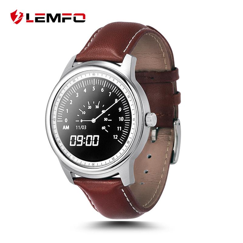 Prix pour LEMFO LEM1 Smart Watch MTK2502 Smartwatch pour Android IOS Téléphone