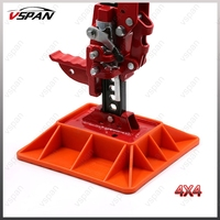 4x4 Farm High Lift Jack Base Foot For Jacking On Sand Snow Mud Offroad Base Attachment