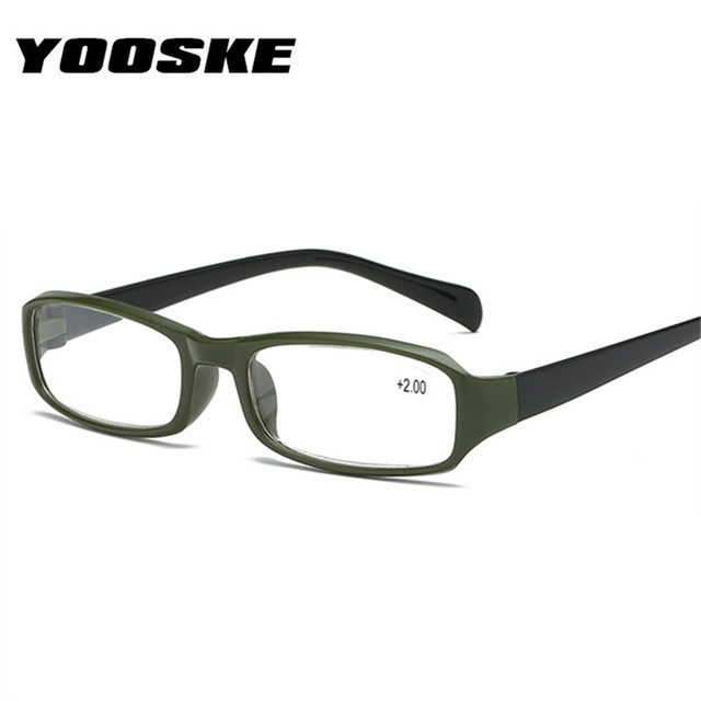 9a70f71b2dab YOOSKE Reading Glasses Unisex TR90 Resin HD lens Spectacles Presbyopic  Glasses 3.0 Man Glasses For Reading +1.0 1.5 2.0 2.5 3.0