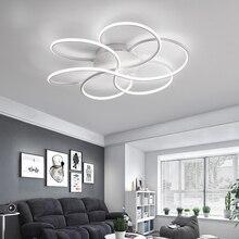 цена на Modern led Ceiling Lights for Living room Bedroom Aluminum Avize lustre Children Baby room LED Ceiling Lamp with remote Dimming