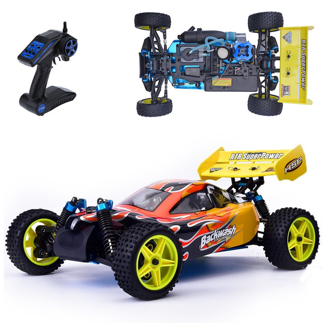 Hsp Rc Car 1 10 Scale Models Nitro Gas 4wd Remote Control Two