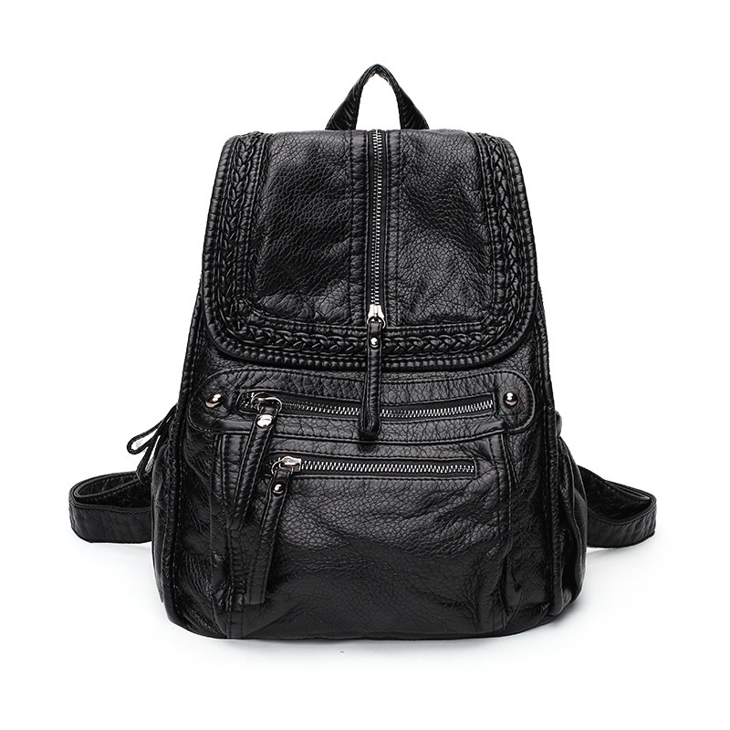 2019 Female backpack mochila feminina casual Multifunction Women Leather Backpack Female Shoulder Bag Sac A Dos Travel Back C9812019 Female backpack mochila feminina casual Multifunction Women Leather Backpack Female Shoulder Bag Sac A Dos Travel Back C981