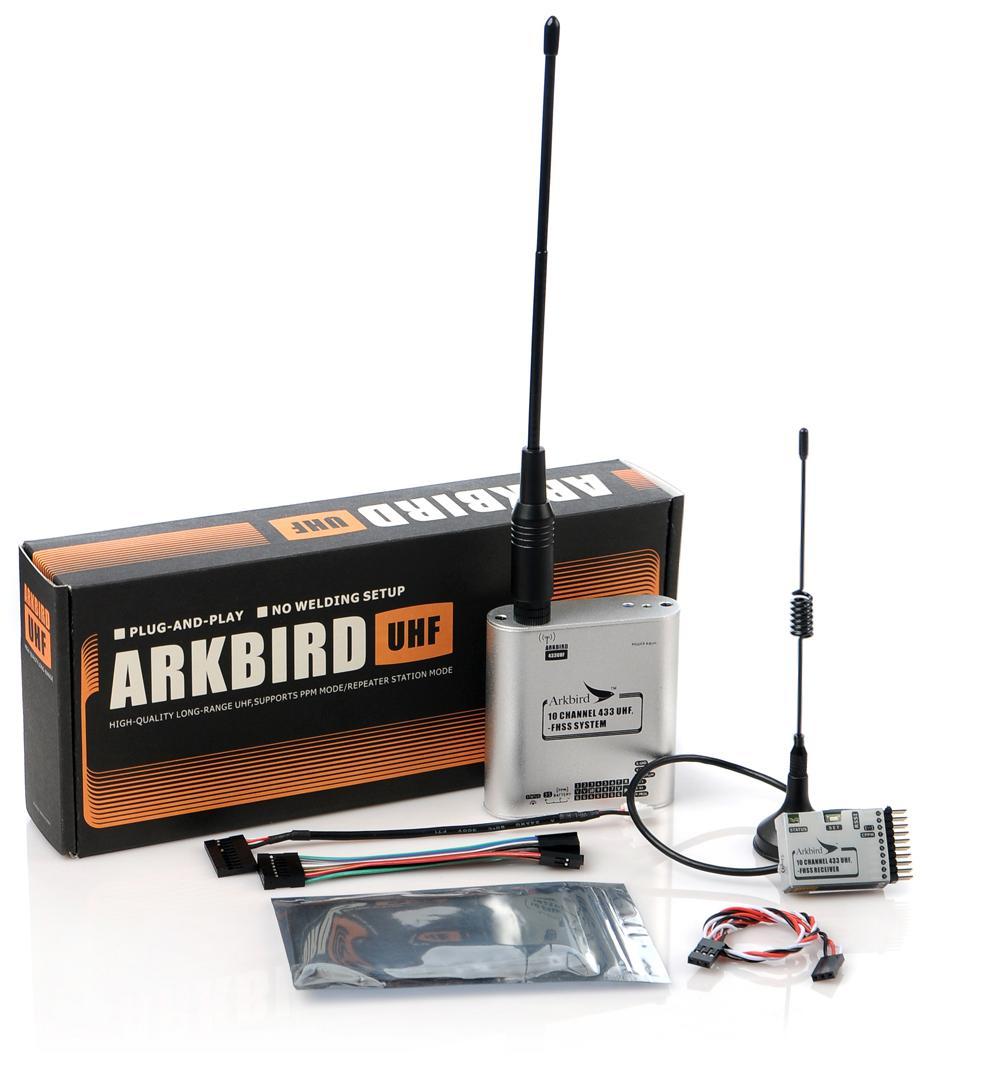 ARKBIRD Long Range System LRS UHF Module 443Mhz 10CH FHSS Control System For Futaba WLFY FLYSKY remote controller signal booster module diy module in built non destructive installation for futaba 14sg jr xg6 rc drone f18732
