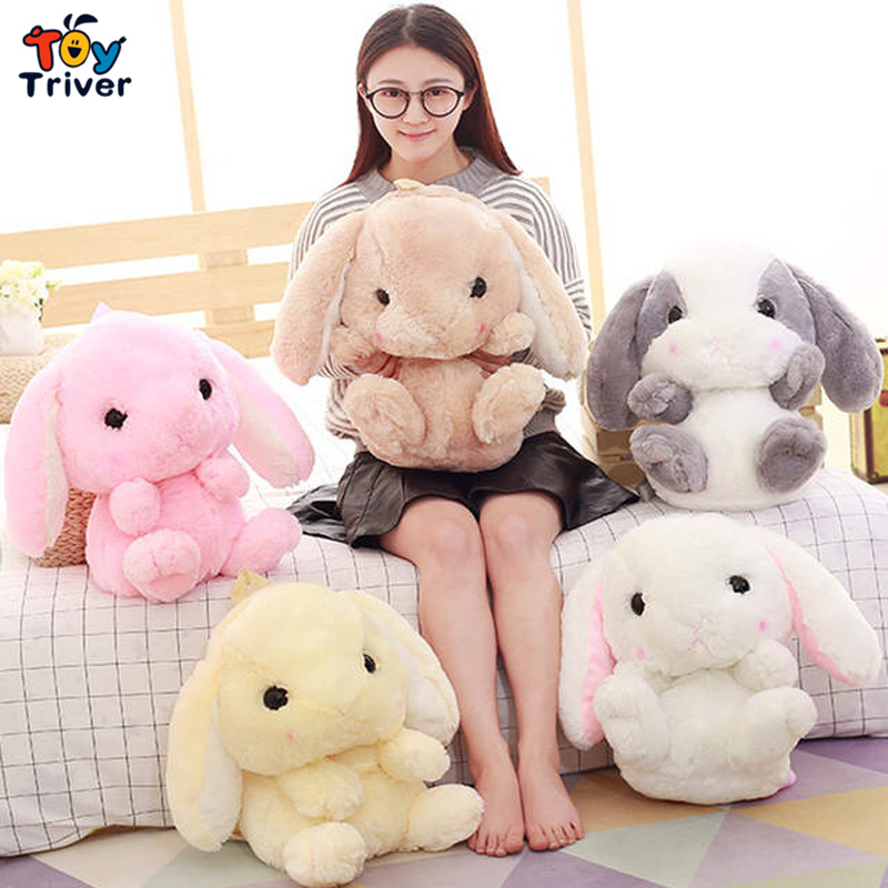 Kawaii Cute Rabbit Bunny Bag Shoulder Bags Backpack Plush Toy Triver Girl Girlfriend Children Kids Birthday Gift Girls Toys