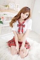 Vendita calda costumi sexy per le donne scuola giapponese uniforme school girl costume cosplay uniforme tentazione sexy lingerie one size