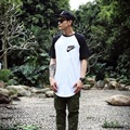 Nwe Summer Mens Hip Hop T Shirt full Short Sleeve T-Shirt With  Hole Cuffs Tees shirts Curve Hem Men Street Wear Tops