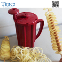 Manual Potato Machine Twisted Potato Slicer Spiral Vegetable Cutter French Fry Cutting Tool
