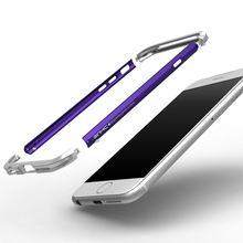 Алюминий металлический бампер для Apple iPhone 6 6 S 6 S плюс мода красочные Роскошный телефон Рамки для Apple iPhone 6 S Чехол бампер