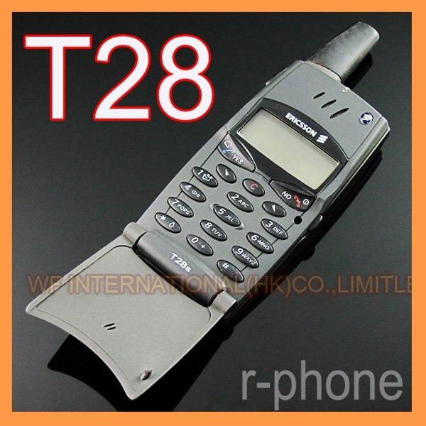 Цена за Восстановленное в Исходном Ericsson T28 T28s Мобильный сотовый Телефон 2 Г GSM 900/1800 Разблокирована Черный и не Может использовать в США