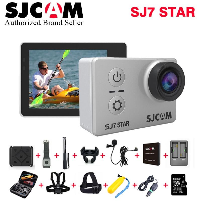Original SJCAM SJ7 Star WiFi 4K 30FPS 2' Touch Screen Remote Action Sports DV Helmet Camera Waterproof Ambarella A12S75 Chipset