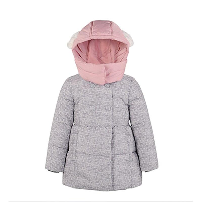 2016 Children Coat Minnie Baby Girls winter Coats kids jacket long sleeve coat girl s warm