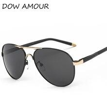 DOW AMOUR 2017 gafas de Sol Polarizadas de Los Hombres/Diseñador de la Marca Mujeres del estilo del verano Gafas de Sol UV400 de Conducción Golf Gafas de Sol