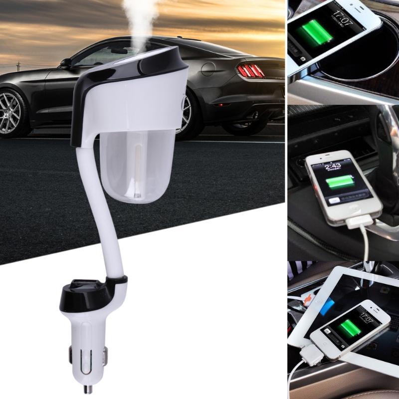 Car Aroma Diffuser Humidifier - Portable Mini Car Aromatherapy Humidifier Air Diffuser Purifier essential oil diffuser aromatherapy aroma mix