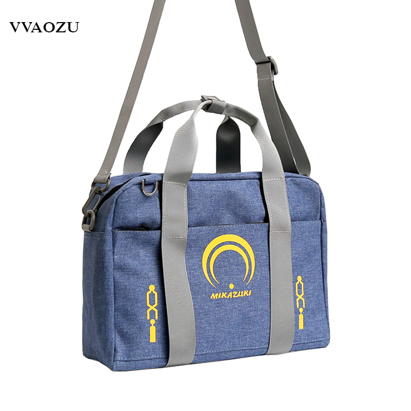 Anime Touken Ranbu Online Canvas Crossbody Messenger Bag Mikazuki Munechika JK Handbag Schoolbag Shoulder Satchel Messager Bags touken ranbu online mikazuki munechika ichigo hitofuri q version 10cm nendoroid pvc action figures collectible model toys