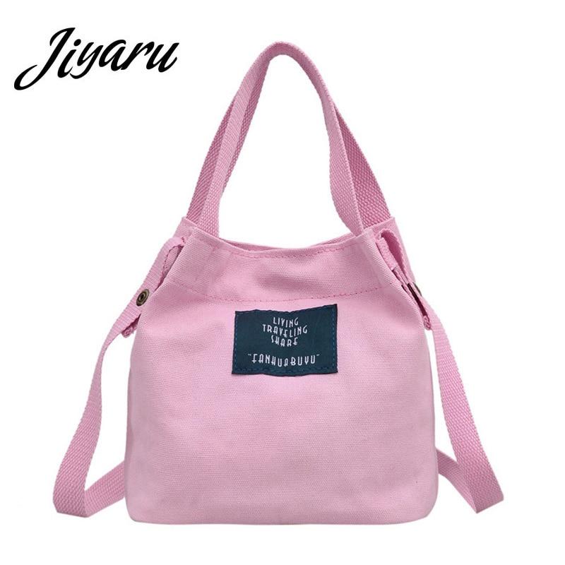 Fashion Canvas Shoulder Bag 2018 Newly Korea Female Handbag Letters Printing College Wind Student Messenger Bags Corssbody Tote