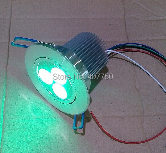 gratis frakt till Oceanien wifi dmx kontroll RGBW 3X4W led taklampa - LED-belysning