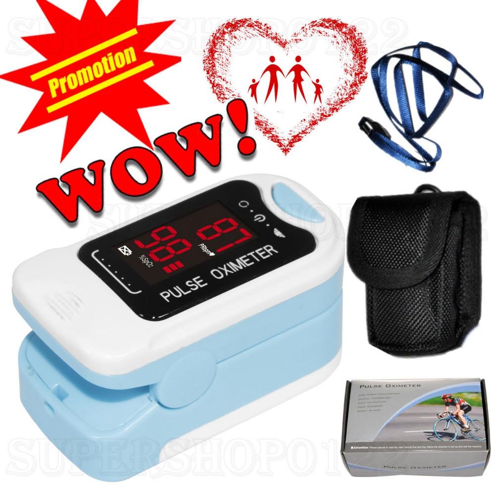 CMS50M LED Fingertip Pulse Oximeter, Spo2 Monitor,Carry Case,Lanyard,HOT SALE CE CONTEC