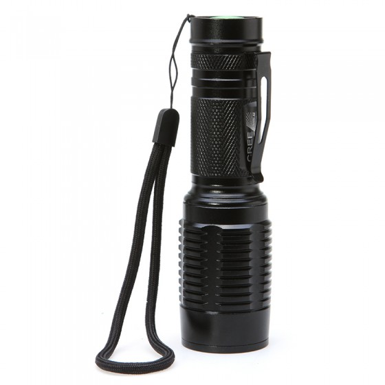 XML T6 5 Modes 2000 Lumens LED Handy Flashlight Portable Flash Light Zoomable Lamp Torch Lantern For Hunting Use 18650 AAA led 1600 lumens 3 mod zoomable fashlight t6 light 3 aaa 1 18650 rechargeable flash light head torch lantern lamp