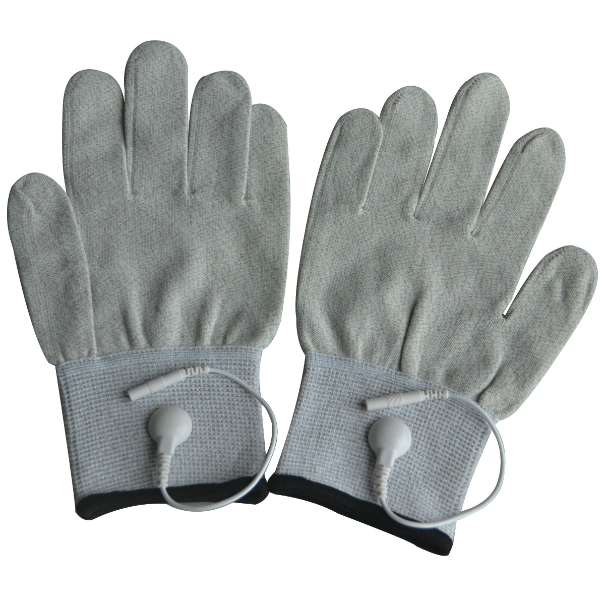 10 Pairs/Pack Conductive Massage Gloves physiotherapy electrotherapy electrode Gloves Use with Tens Massage Light Gray 10 Pairs/Pack Conductive Massage Gloves physiotherapy electrotherapy electrode Gloves Use with Tens Massage Light Gray