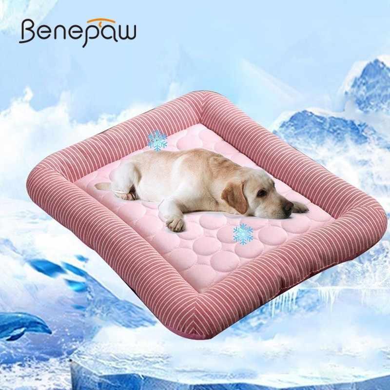 Benepaw Летний дышащий коврик для отдыха собаки экологически чистый моющийся щенок собака кровати для средних и мелких собак спальный матрац для домашних животных