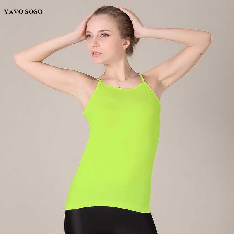 0b1ac7b9d Detail Feedback Questions about New Arrival Women Tops Moda Summer Camis  Sexy Sleeveless Camis top Vest plus size 6XL Candy colors Casual Women s  Tank on ...
