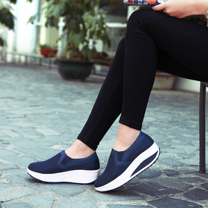 Image 5 - 2020 Women Shoes Mesh Breathable Summer Shoes Flats Women Loafers Casual Swing Shoes Women Flootwear Size 35 42