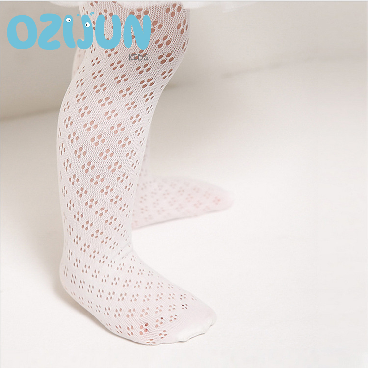 2019 NEW Baby Summer Tights Little Hole Mesh Pantyhose Newborn Cotton Breathable Nets Pantyhose Velvet Tight  0-2/2-4Y Stockings