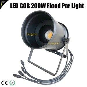 Image 5 - 2 adet aşağı ışık COB LED 200w yakınlaştırma spot 15 ~ 50 derece stüdyo ile Par LED Par56 siyah konut geleneksel projektör